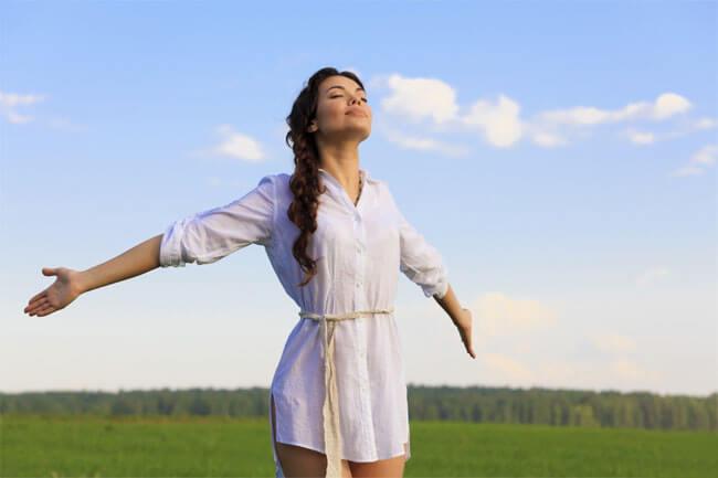 瞑想はストレス解消効果もある