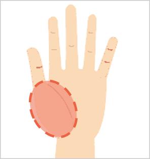 指ヨガで股関節をほぐす